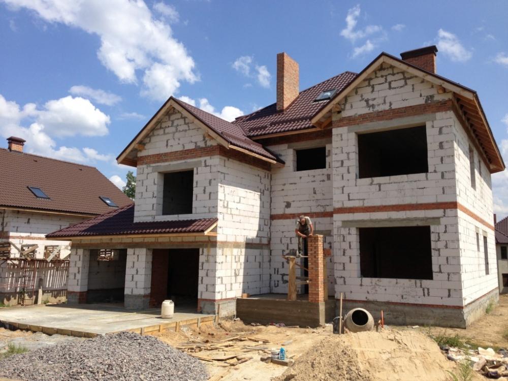 Строительство пеноблочных домов, коттеджей и дач по современным проектам и технологиям.